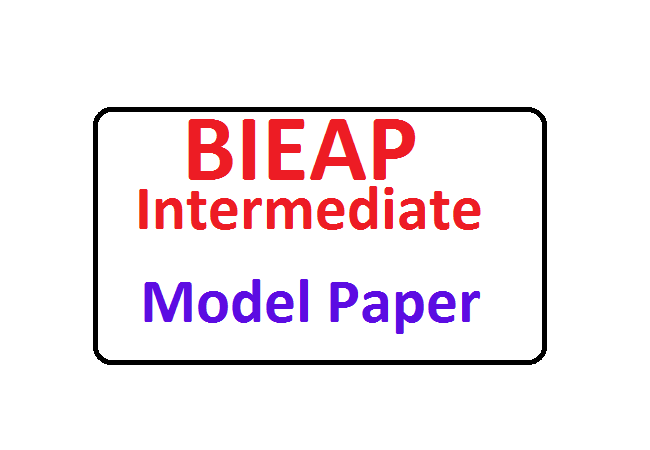 AP 12th Intermediate Model Paper